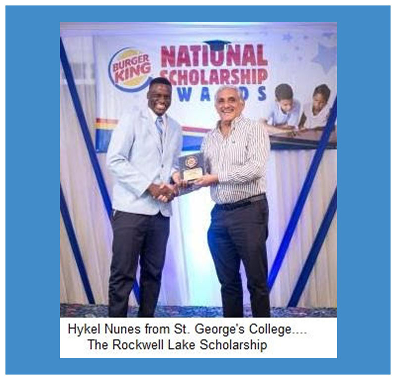 Burger King Rodwell Lake Scholarship Awards